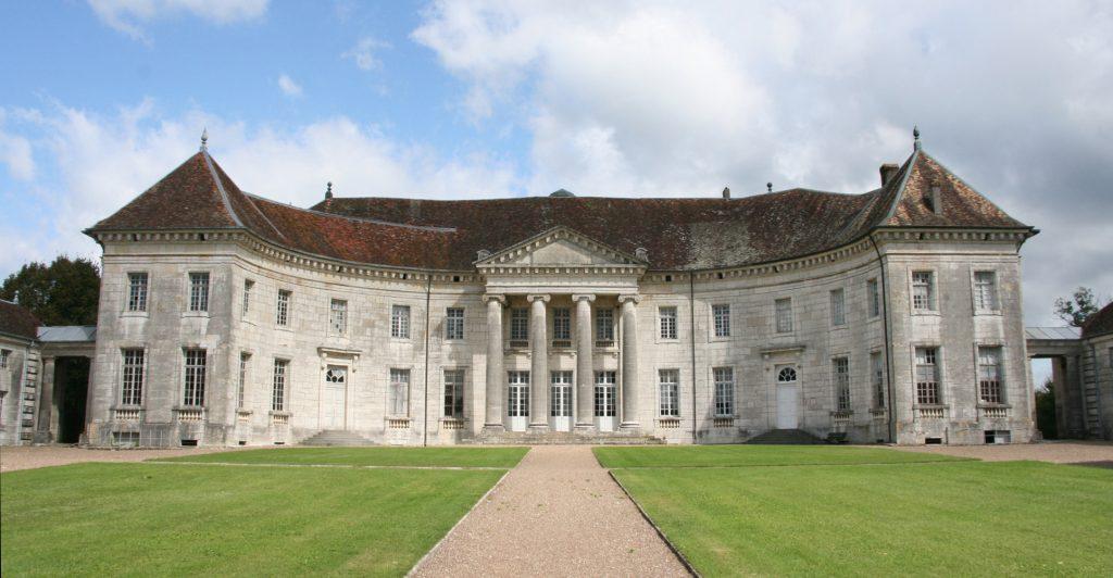 Le château de Moncley vu du parc